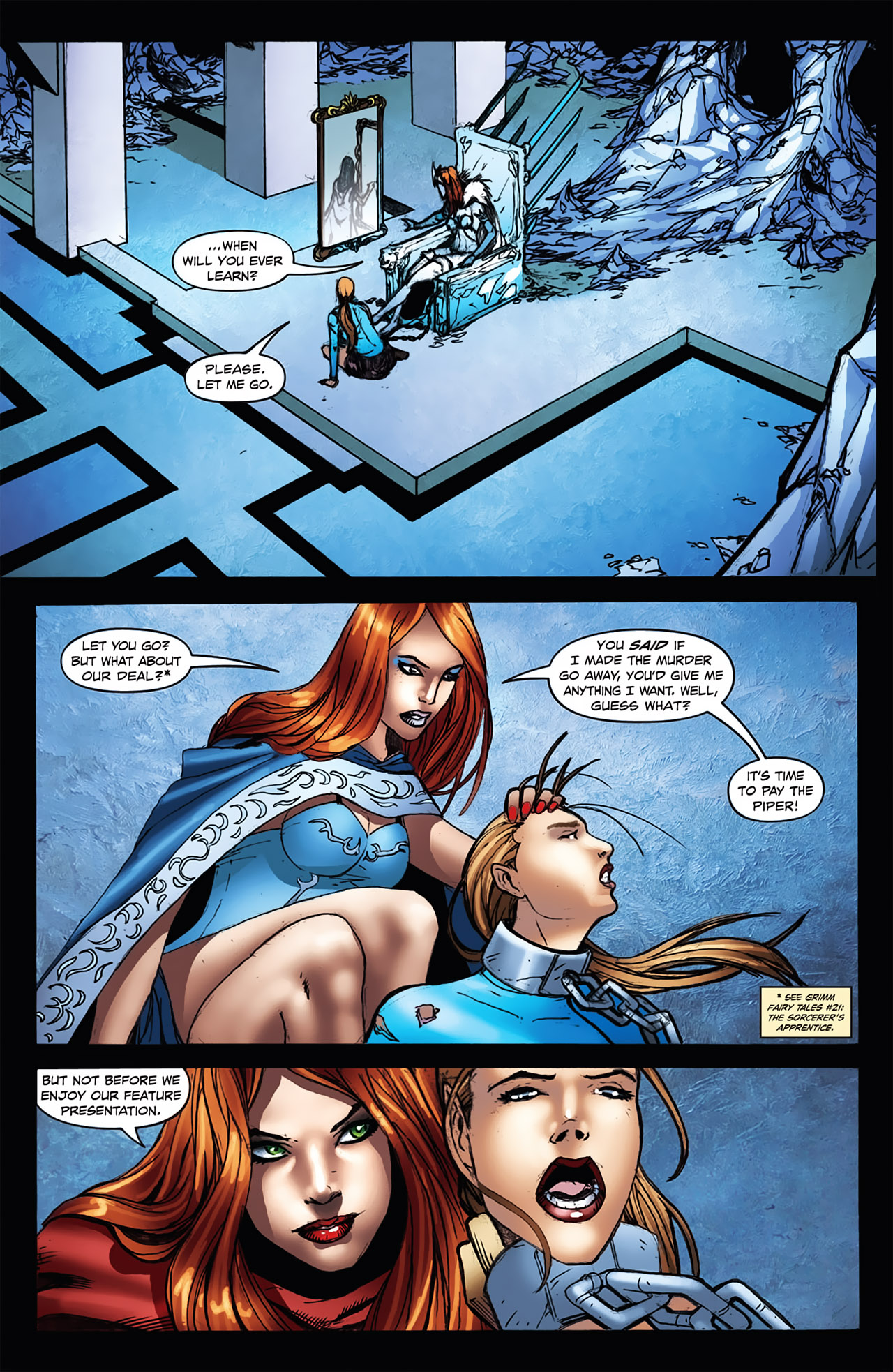 Grimm Fairy Tales (2005) Issue #23 #26 - English 4