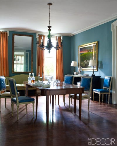 Julia reed 39 s house in new orleans decor kitchens and - Federal style interior paint colors ...