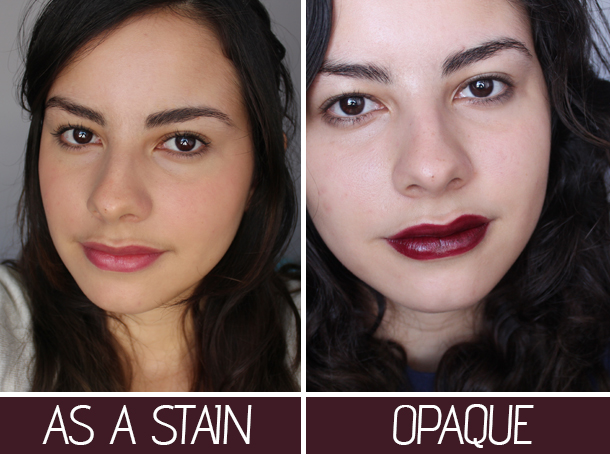 revlon black cherry lipstick review lip swatch