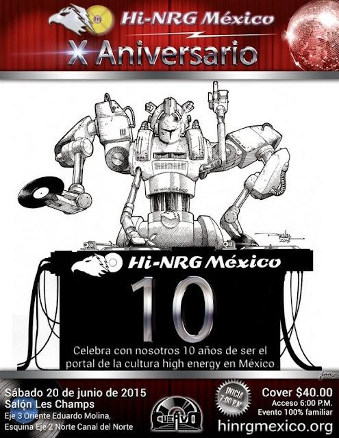 10 Aniversario Hi-NRG México