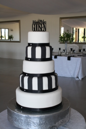 Choc N Cherry Wedding Cakes