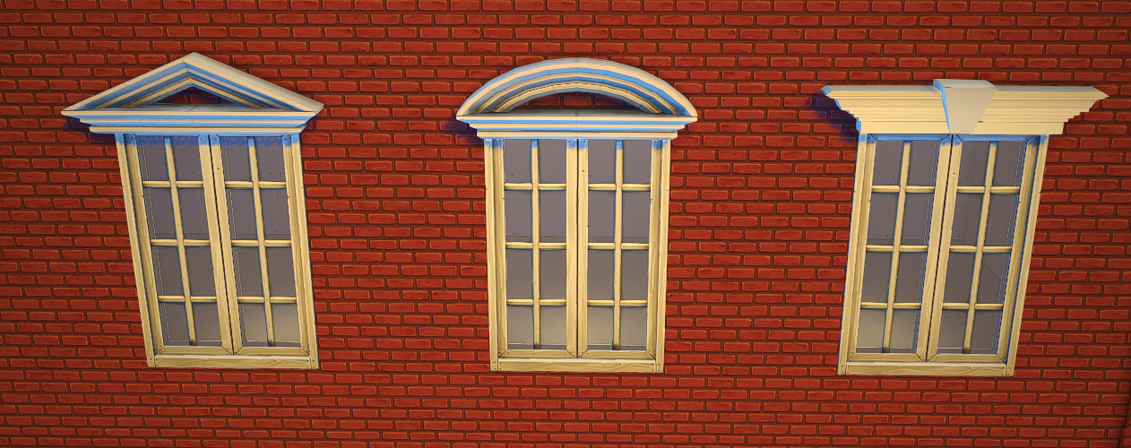 My sims 4 blog pretty pediments by teanmoon for Exterior window pediments