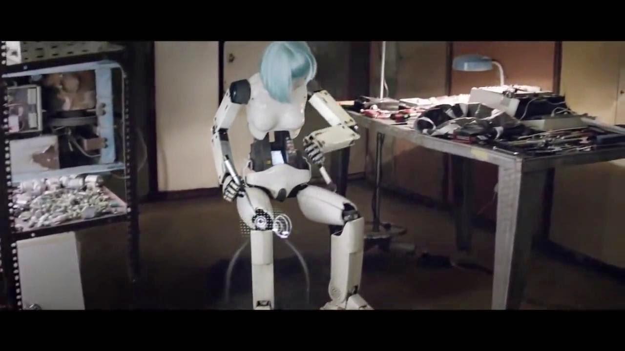 Robot auto reparándose