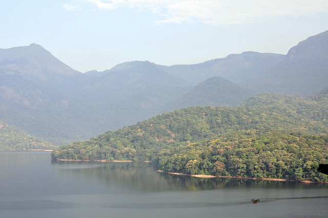 Lake in kerala . visit kerala