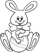 Conejos de pascua para colorear pintar conejos de pascua