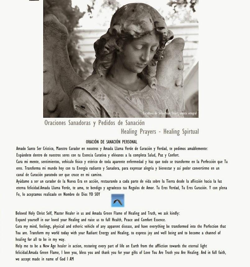 Oraciones Sanadoras y Curación Espiritual - Prayers for Healing - Healing Spiritual