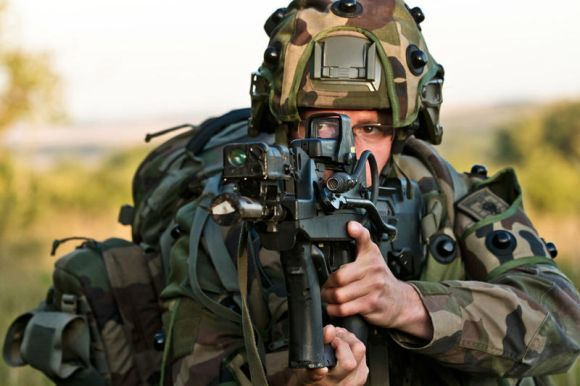 Perlengkapan tentara masa depan Prancis