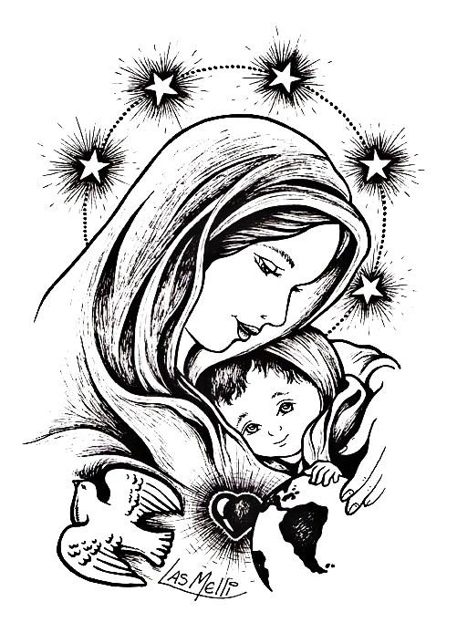 Imagenes De San Judas Tadeo Para Colorear >> El Rincón de las Melli: octubre 2012