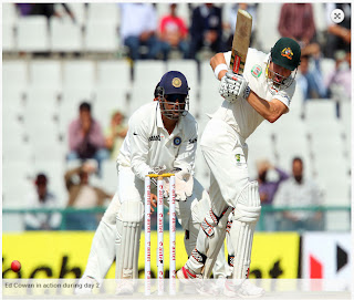 Ed-Cowan-INDIA-v-AUSTRALIA-3rd-TEST-day2