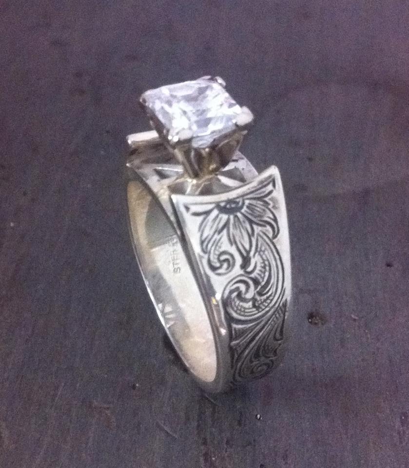 western style wedding rings - Western Style Wedding Rings