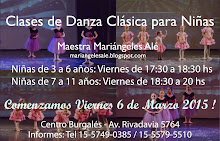 Clases Niñas en Caballito- Centro Burgales