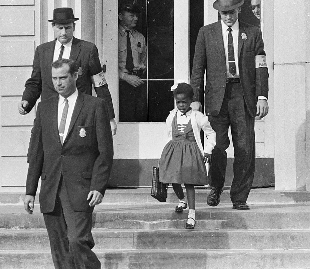 Ultimate Collection Of Rare Historical Photos. A Big Piece Of History (200 Pictures) - Ruby Bridges