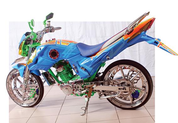 Honda Mega Pro '01 : City Mega Pro Sport