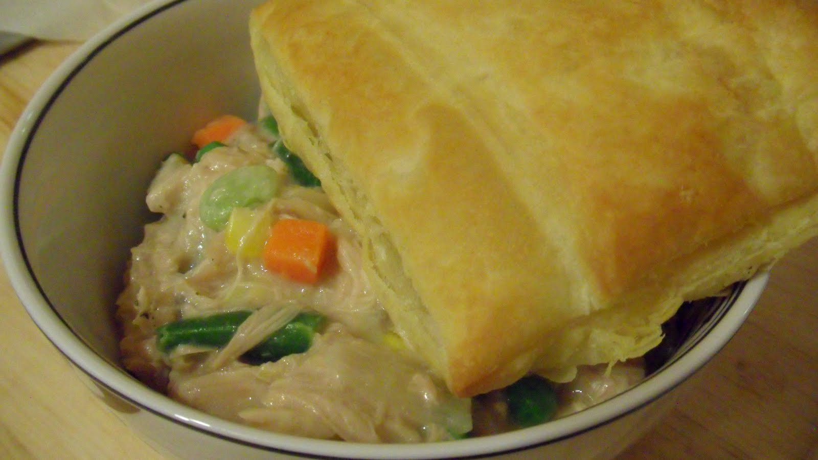 Slow Cooker Creamy Chicken Pot Pie « Well Dined