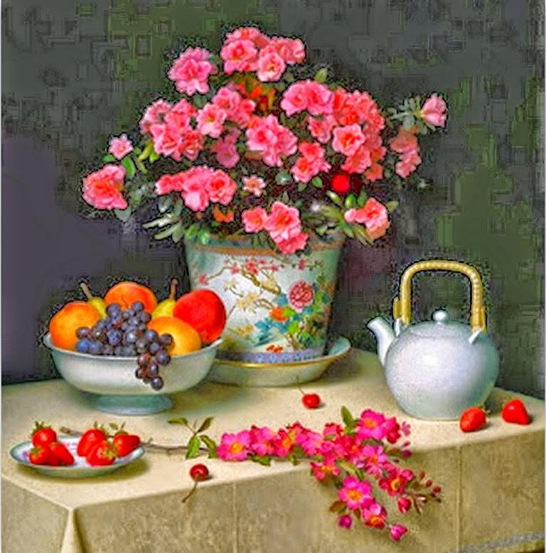 bodegones-de-frutas-con-flores