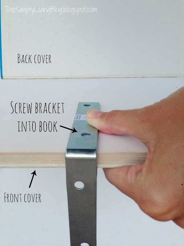 DIY Floating Shelves Brackets