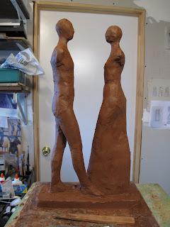 Jen Harmon Allen Duo sculpture