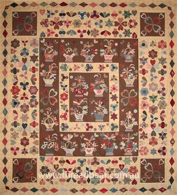 Barbara Brackman's MATERIAL CULTURE: Reproduction Patterns : threadbear quilts - Adamdwight.com
