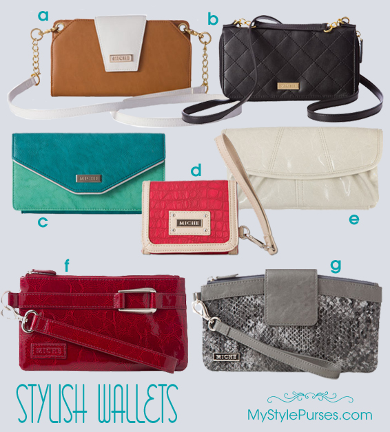 Shop all Miche Wallets and Wallet Wristlets