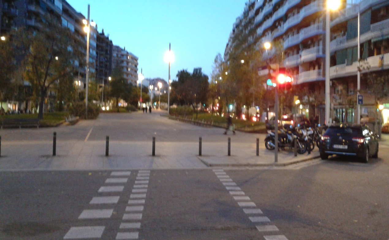 gran via diagonal: