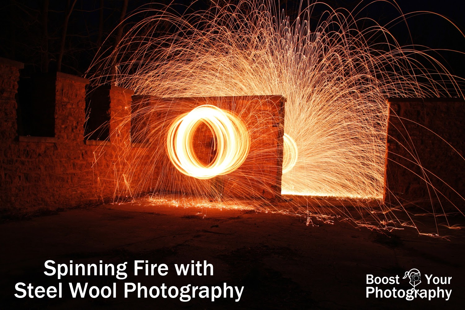 Spinning Fire with Steel Wool Photography | Boost Your Photography