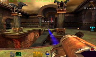 Screenshots of the Quake 3 Arena for Android tablet, phone.
