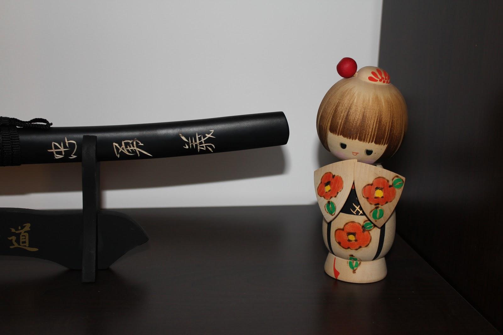 Culture Japonaise avec l'explication de la création des Kokeshi. Poupées de l'ère Edo (1600 - 1868). Kimmidoll