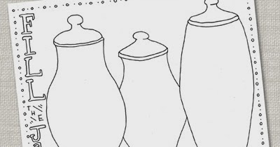 Bnute Productions Free Printable Candy Jar Coloring Page