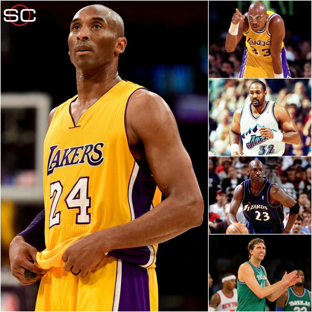 Kobe Bryant last NBA game - Old Shooters