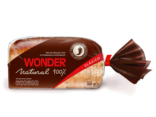 Packaging Of The World: Wonder Bread (Student Work