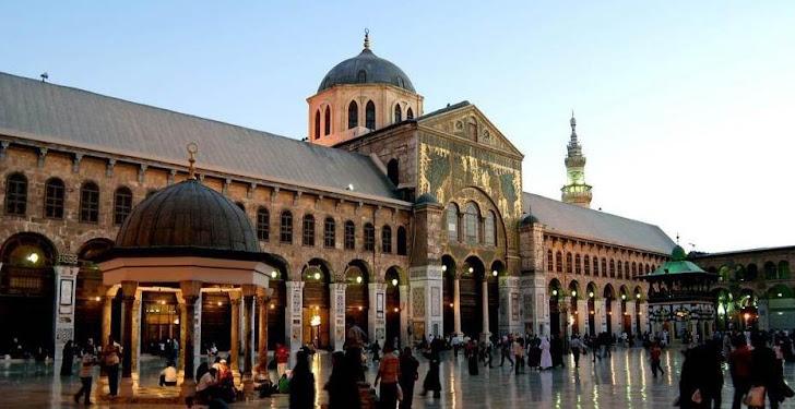 مسجد بني أمية في دمشق