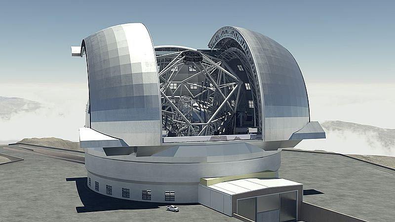 Телескопы  Субару, Салт, БТА, VLT, Keck (16 фото)