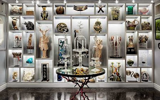cabinet of curiosities, Creel & Gow, New York City, eccentric decorative offering