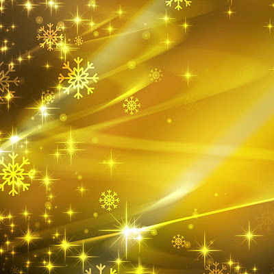 Golden snowflaker, Christmas download free wallpapers for Apple iPad