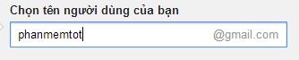 tạo tài khoản google bước 2