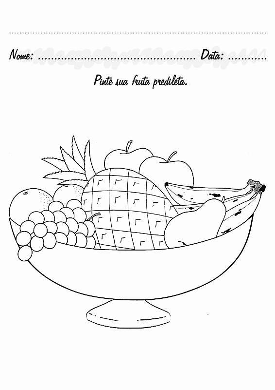 Atividades De Educa    O Infantil   Frutas E Verduras