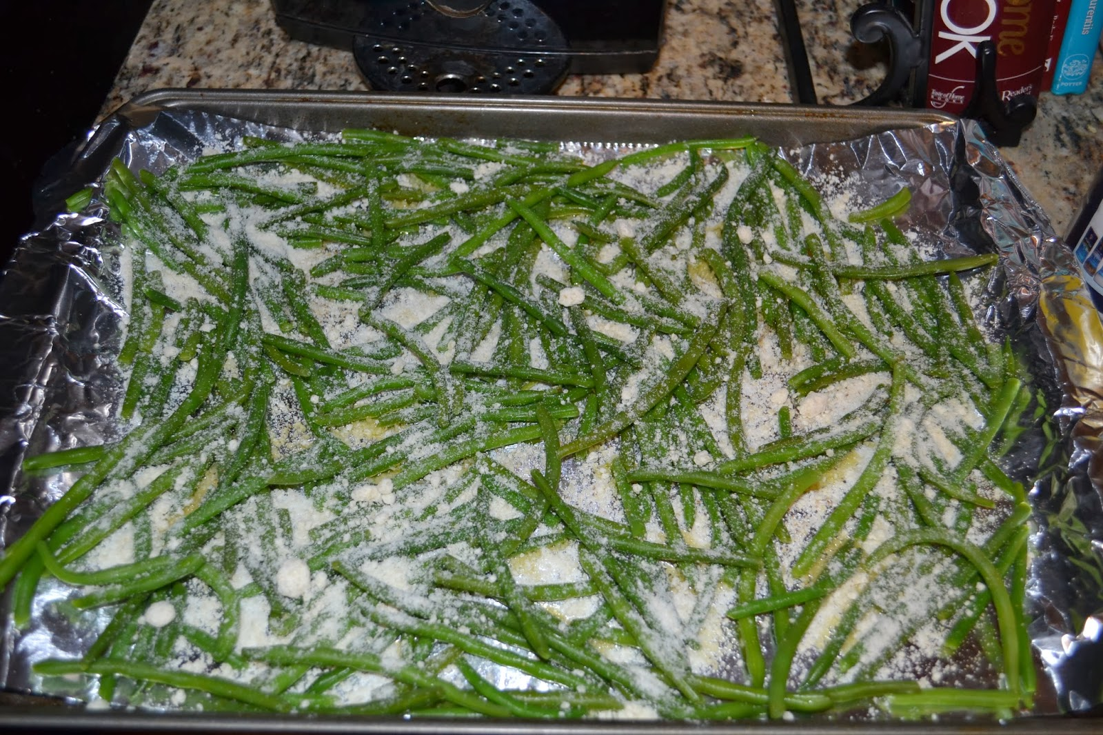 Fitness By Alicia: Crispy Baked Parmesan Green Bean Fries