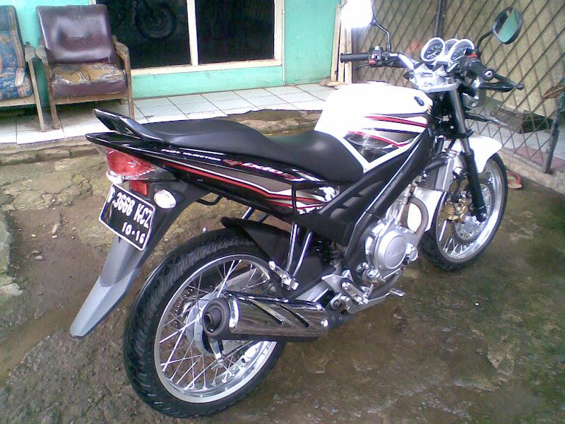 Modifikasi Yamaha Vixion Putih 2011 title=