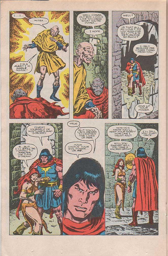 Conan the Barbarian (1970) Issue #185 #197 - English 17