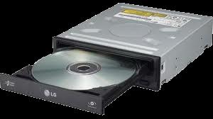 Unidad lectora de CD/DVD.