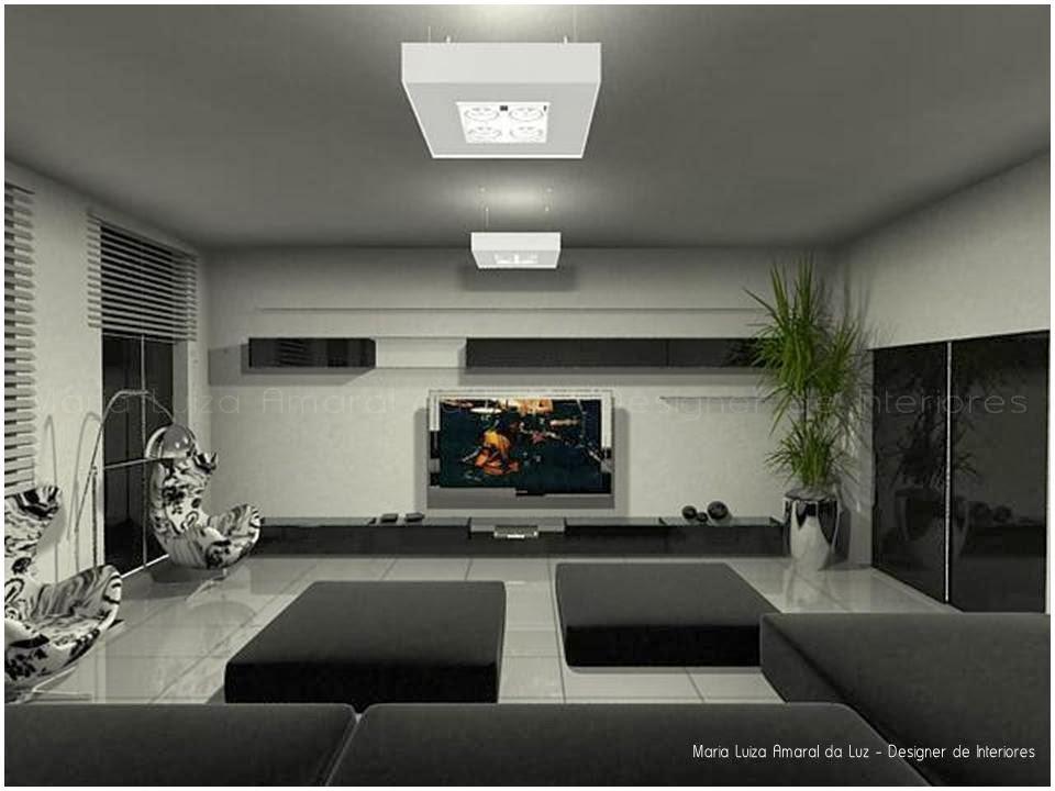 Salas De Tv Decoradas Com Espelhos ~  para sala de tv decoração para sala de tv  Dicas Decoracao Sala Tv
