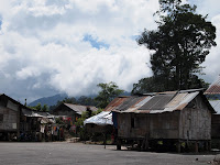 Orang Asli village on Route 5, Cameron Highlands