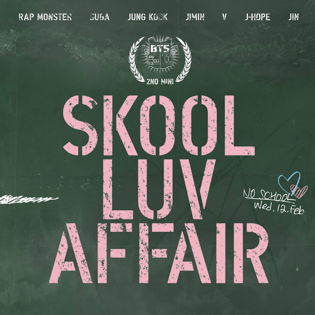 BTS Skool Luv Affair Font