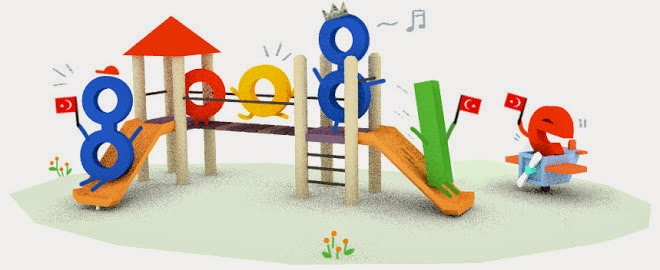 Children's Day 2015 (Turkey) and National Sovereignty Day Google Doodle