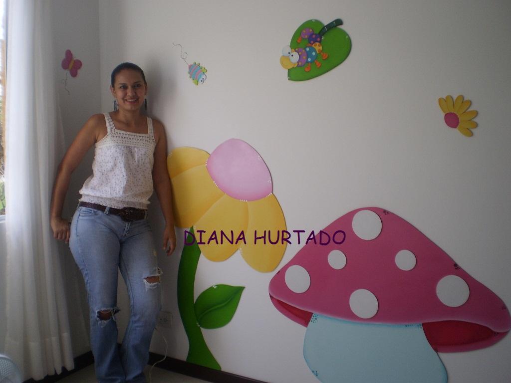 Art decorativo mural para ni as - Murales para ninas ...