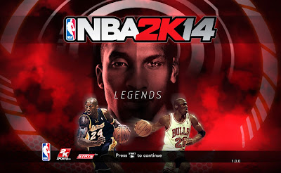 NBA 2K14 Michael Jordan & Kobe Bryant Game Cover