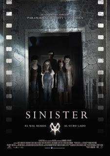 Poster en España de Sinister