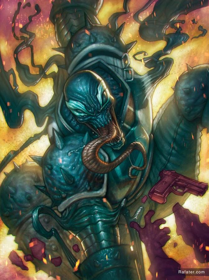 Agent venom by Rafater