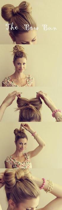 Peinado dulce estilo minnie