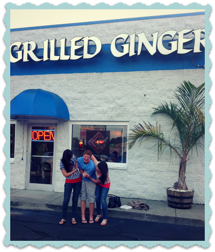 The Grilled Ginger - Tickle Fight!